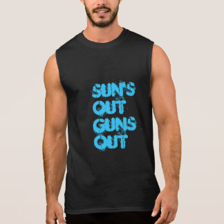 Suns Out Sleeveless Tees