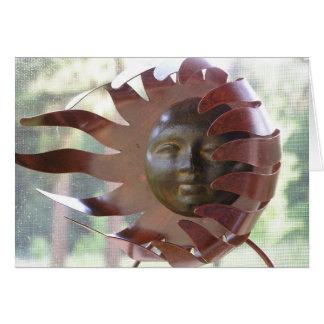 sunsculpture card
