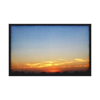Sunset 032317 Abilene, Texas Canvas Print