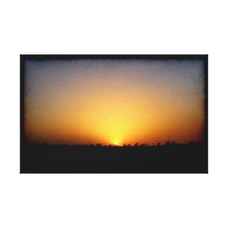 Sunset 032417 Abilene, Texas Canvas Print