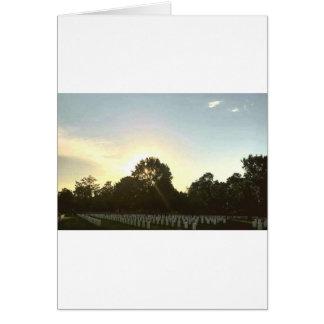 Sunset #1 card