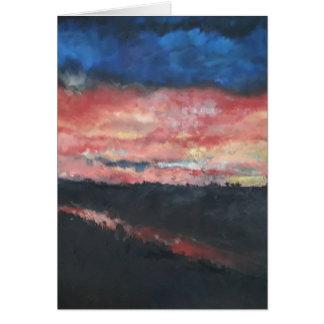 Sunset 1 Card