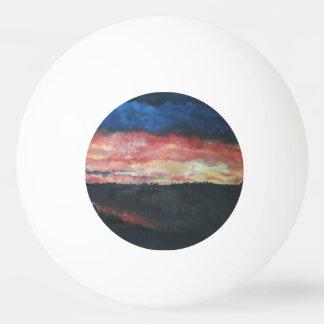 Sunset 1 Table Tennis Ball