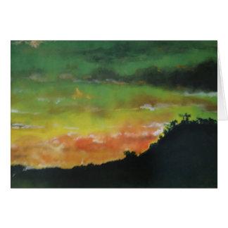 Sunset 2 Card