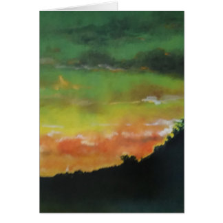Sunset 2 Card