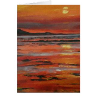 Sunset 3 Card