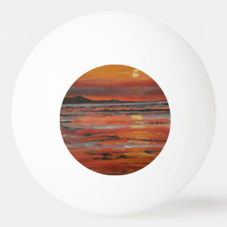 Sunset 3 Table Tennis Ball