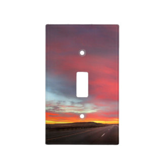 Sunset 4 light switch cover