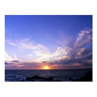 Sunset (4) postcard