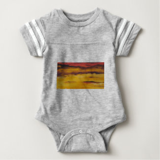 Sunset 5 baby bodysuit