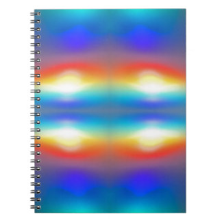 Sunset abstract  Portrait Spiral Notebook