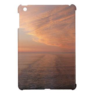 Sunset abstract sun sea Alaska iPad Mini Cover