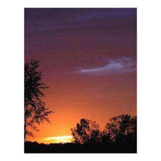 Sunset African Delight Letterhead Design