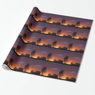 Sunset African Delight Wrapping Paper