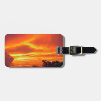 Sunset After the Storm Luggage Tag