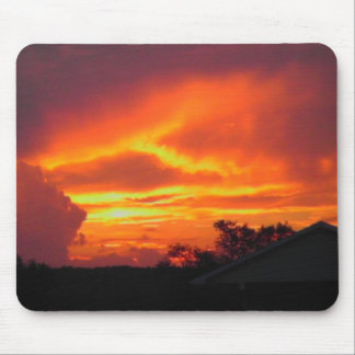 Sunset After the Storm Mouse Pad