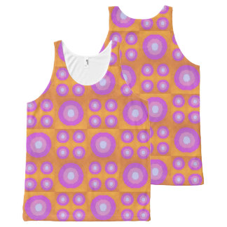 Sunset All-Over-Print Tank Top