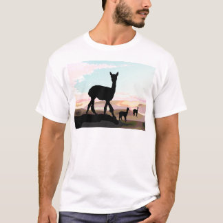 Sunset Alpacas T-Shirt