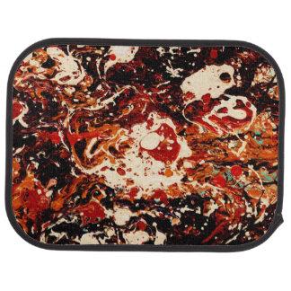 SUNSET (an abstract art design) ~ Car Mat