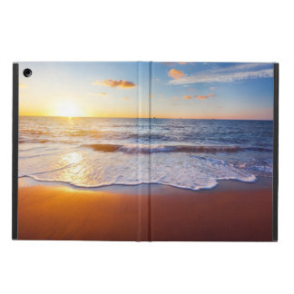 Sunset and beach cover for iPad air
