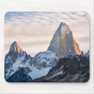 Sunset And Clouds Over Mt Fitzroy Mouse Pad