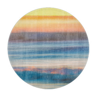 Sunset and Ocean | Cape Disappointment State Park Cutting Board
