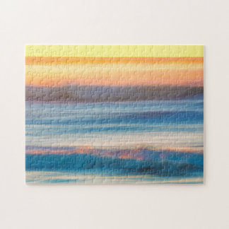 Sunset and Ocean | Cape Disappointment State Park Jigsaw Puzzle