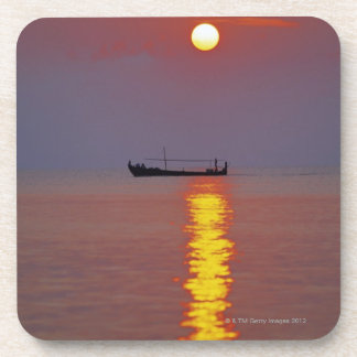 Sunset and Sea 2 Drink Coaster