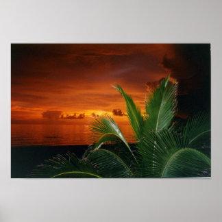 Sunset, Anna Maria Island Poster