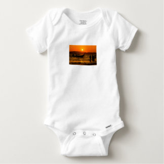 Sunset at Ao Nang beach Baby Onesie