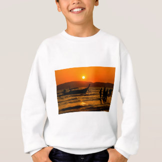 Sunset at Ao Nang beach Sweatshirt