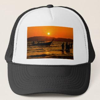 Sunset at Ao Nang beach Trucker Hat