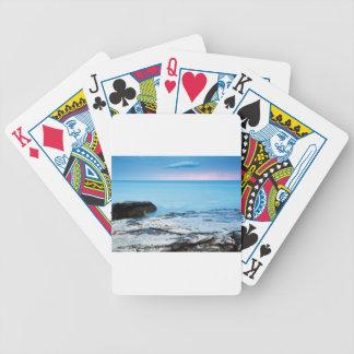 Sunset at basanija poker deck