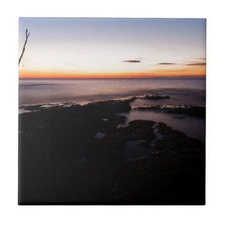 Sunset at basanija tile