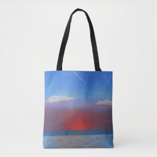 Sunset at Bayport Tote Bag