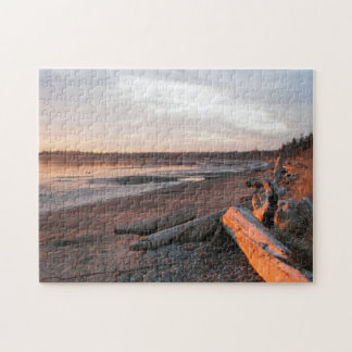Sunset at Birch Bay Puzzle