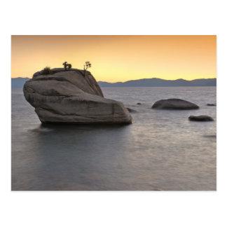 Sunset at Bonsai Rock, Lake Tahoe... Postcard