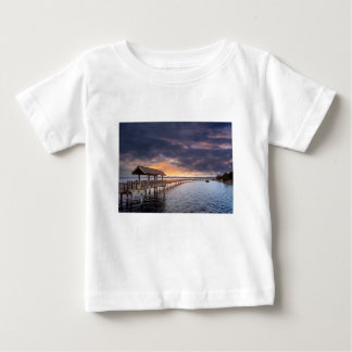 Sunset at Boulevard Park in Bellingham Washington Baby T-Shirt