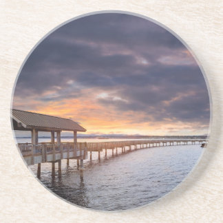 Sunset at Boulevard Park in Bellingham Washington Coaster