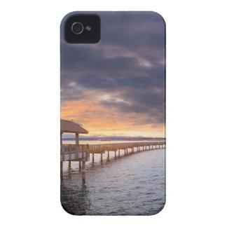 Sunset at Boulevard Park in Bellingham Washington iPhone 4 Case-Mate Cases