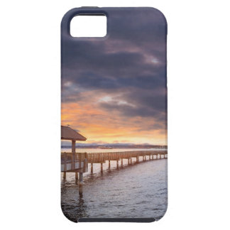 Sunset at Boulevard Park in Bellingham Washington iPhone 5 Cover
