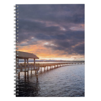 Sunset at Boulevard Park in Bellingham Washington Notebooks