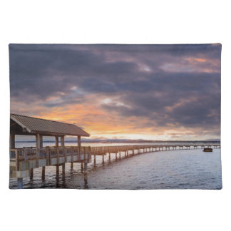 Sunset at Boulevard Park in Bellingham Washington Placemat