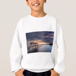 Sunset at Boulevard Park in Bellingham Washington Sweatshirt