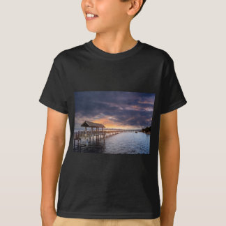 Sunset at Boulevard Park in Bellingham Washington T-Shirt