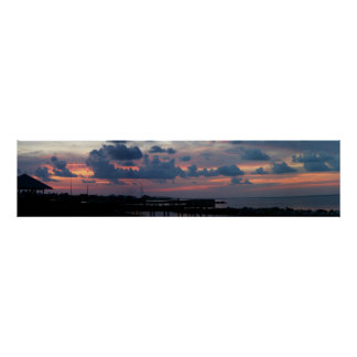 Sunset at Dauphin Island Poster