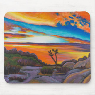 Sunset at Joshua Tree Mouse Pad