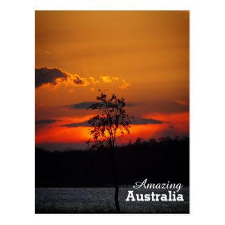 Sunset at Lake Paradise postcard