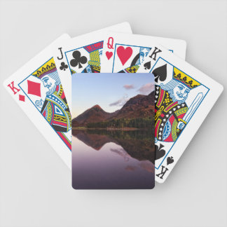 Sunset at Loch Leven, Scotland Bicycle Playing Cards