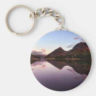 Sunset at Loch Leven, Scotland Keychain